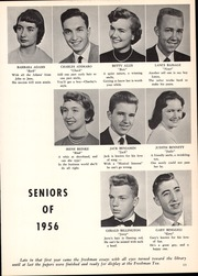 Page 17, 1956 Edition, Webster Central High School - Reveille Yearbook (Webster, NY) online yearbook collection