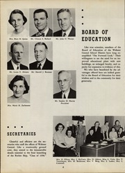 Page 10, 1958 Edition, Webster Central High School - Reveille Yearbook (Webster, NY) online yearbook collection