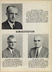 Page 11, 1958 Edition, Webster Central High School - Reveille Yearbook (Webster, NY) online yearbook collection