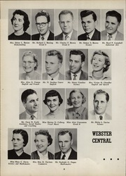 Page 12, 1958 Edition, Webster Central High School - Reveille Yearbook (Webster, NY) online yearbook collection