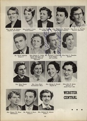 Page 14, 1958 Edition, Webster Central High School - Reveille Yearbook (Webster, NY) online yearbook collection