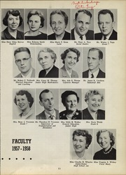 Page 15, 1958 Edition, Webster Central High School - Reveille Yearbook (Webster, NY) online yearbook collection