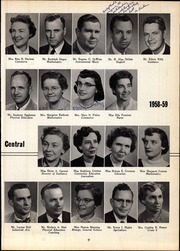 Page 13, 1959 Edition, Webster Central High School - Reveille Yearbook (Webster, NY) online yearbook collection