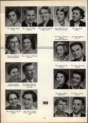 Page 14, 1959 Edition, Webster Central High School - Reveille Yearbook (Webster, NY) online yearbook collection