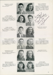 Page 17, 1947 Edition, Monroe High School - Monrolog Yearbook (Rochester, NY) online yearbook collection