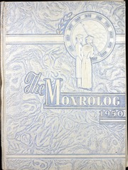 Page 1, 1950 Edition, Monroe High School - Monrolog Yearbook (Rochester, NY) online yearbook collection