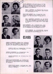 Page 16, 1950 Edition, Monroe High School - Monrolog Yearbook (Rochester, NY) online yearbook collection