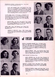Page 17, 1950 Edition, Monroe High School - Monrolog Yearbook (Rochester, NY) online yearbook collection