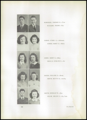 Page 16, 1943 Edition, Johnstown High School - Baronet Yearbook (Johnstown, NY) online yearbook collection
