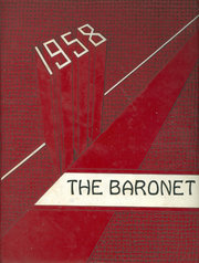 Page 1, 1958 Edition, Johnstown High School - Baronet Yearbook (Johnstown, NY) online yearbook collection