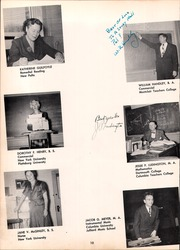 Page 14, 1952 Edition, Irvington High School - Sunnyside Yearbook (Irvington, NY) online yearbook collection