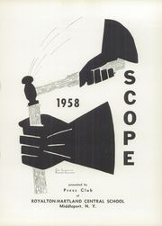 Page 5, 1958 Edition, Royalton Hartland Central School - Scope Yearbook (Middleport, NY) online yearbook collection