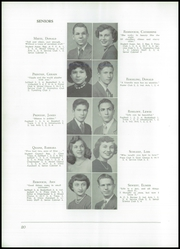Page 24, 1950 Edition, Akron Central School - Akronite Yearbook (Akron, NY) online yearbook collection
