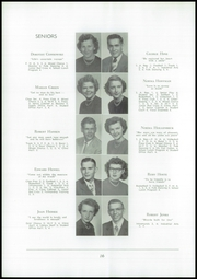 Page 20, 1952 Edition, Akron Central School - Akronite Yearbook (Akron, NY) online yearbook collection