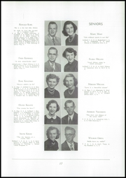 Page 21, 1952 Edition, Akron Central School - Akronite Yearbook (Akron, NY) online yearbook collection