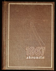 Akron Central School - Akronite Yearbook (Akron, NY) online yearbook collection, 1967 Edition, Page 1