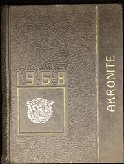 Akron Central School - Akronite Yearbook (Akron, NY) online yearbook collection, 1968 Edition, Page 1