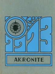 Akron Central School - Akronite Yearbook (Akron, NY) online yearbook collection, 1973 Edition, Page 1