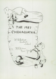 Page 5, 1957 Edition, Whitesboro High School - Chegaquatka Yearbook (Whitesboro, NY) online yearbook collection