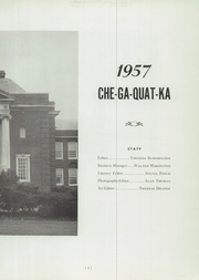 Page 7, 1957 Edition, Whitesboro High School - Chegaquatka Yearbook (Whitesboro, NY) online yearbook collection