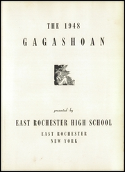 Page 5, 1948 Edition, East Rochester High School - Gagashoan Yearbook (East Rochester, NY) online yearbook collection