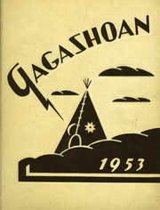 1953 Edition, East Rochester High School - Gagashoan Yearbook (East Rochester, NY)