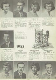 Page 15, 1953 Edition, East Rochester High School - Gagashoan Yearbook (East Rochester, NY) online yearbook collection