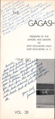 Page 5, 1960 Edition, East Rochester High School - Gagashoan Yearbook (East Rochester, NY) online yearbook collection