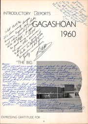 Page 7, 1960 Edition, East Rochester High School - Gagashoan Yearbook (East Rochester, NY) online yearbook collection
