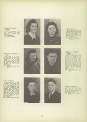 Page 14, 1942 Edition, Canajoharie High School - Black and Gold Yearbook (Canajoharie, NY) online yearbook collection
