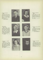 Page 17, 1942 Edition, Canajoharie High School - Black and Gold Yearbook (Canajoharie, NY) online yearbook collection