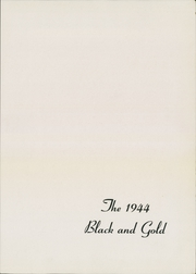 Page 5, 1944 Edition, Canajoharie High School - Black and Gold Yearbook (Canajoharie, NY) online yearbook collection