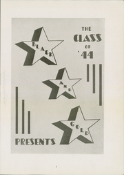 Page 7, 1944 Edition, Canajoharie High School - Black and Gold Yearbook (Canajoharie, NY) online yearbook collection