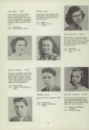 Page 16, 1947 Edition, Canajoharie High School - Black and Gold Yearbook (Canajoharie, NY) online yearbook collection