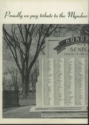 Page 10, 1944 Edition, Mynderse Academy - Myndersian Yearbook (Seneca Falls, NY) online yearbook collection