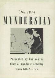 Page 7, 1944 Edition, Mynderse Academy - Myndersian Yearbook (Seneca Falls, NY) online yearbook collection