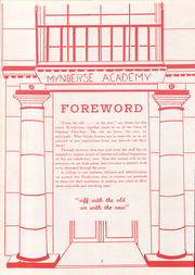 Page 8, 1954 Edition, Mynderse Academy - Myndersian Yearbook (Seneca Falls, NY) online yearbook collection