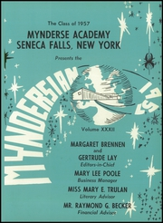Page 5, 1957 Edition, Mynderse Academy - Myndersian Yearbook (Seneca Falls, NY) online yearbook collection