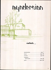 Page 7, 1961 Edition, Mynderse Academy - Myndersian Yearbook (Seneca Falls, NY) online yearbook collection