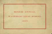Waterloo Central High School - Skoi Yase Yearbook (Waterloo, NY) online yearbook collection, 1910 Edition, Page 1
