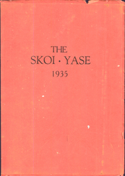 Waterloo Central High School - Skoi Yase Yearbook (Waterloo, NY) online yearbook collection, 1935 Edition, Page 1