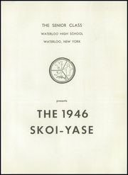 Page 5, 1946 Edition, Waterloo Central High School - Skoi Yase Yearbook (Waterloo, NY) online yearbook collection