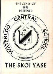 Page 5, 1958 Edition, Waterloo Central High School - Skoi Yase Yearbook (Waterloo, NY) online yearbook collection