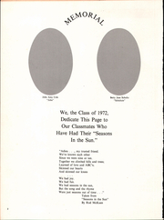 Page 6, 1972 Edition, Waterloo Central High School - Skoi Yase Yearbook (Waterloo, NY) online yearbook collection