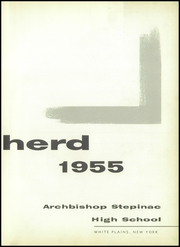 Page 7, 1955 Edition, Archbishop Stepinac High School - Shepherd Yearbook (White Plains, NY) online yearbook collection