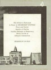 Page 3, 1960 Edition, Archbishop Stepinac High School - Shepherd Yearbook (White Plains, NY) online yearbook collection