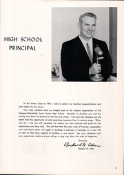 Page 11, 1961 Edition, Niagara Wheatfield High School - Nucleon Yearbook (Sanborn, NY) online yearbook collection