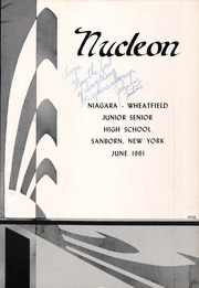 Page 5, 1961 Edition, Niagara Wheatfield High School - Nucleon Yearbook (Sanborn, NY) online yearbook collection