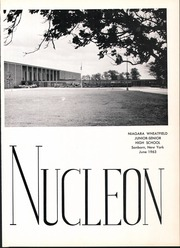 Page 5, 1963 Edition, Niagara Wheatfield High School - Nucleon Yearbook (Sanborn, NY) online yearbook collection