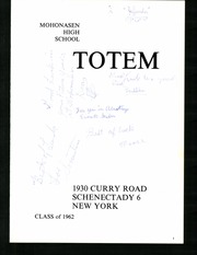 Page 5, 1962 Edition, Mohonasen High School - Totem Yearbook (Schenectady, NY) online yearbook collection